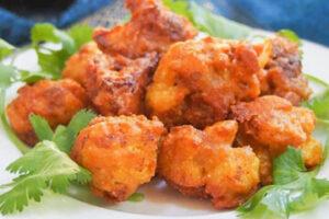 Cauliflower Pakora (Vegan)
